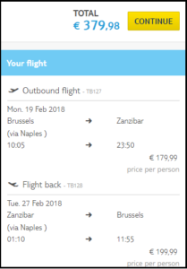 zanziba-cheap flights